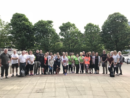 Greater Manchester Preston Legal Walk 2018
