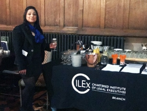 Harpreet Kaur at Branch re-Launch providing drinks
